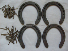 China factory dierct wholesale prices best quality cast iron steel horseshoes