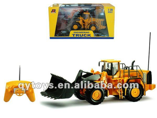 1:28 6CH RC construction truck Kids play RC truck set RC drive rally car toys remote control car