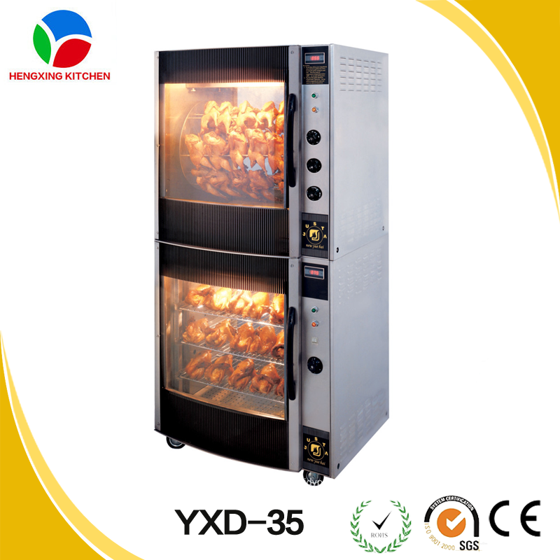 Electric Chicken Warmer/Chicken Roasting Machine/Chicken Rotisserie Oven