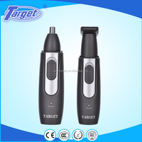 Rechargeable manual mini electric nose hair trimmer