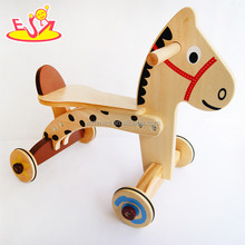 wholesale baby wooden balance walker funny kids wooden balance walker hot sale children wooden balance walker W16A015