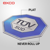 EXCO never roll up high quality promotion photo insert heated mouse pad