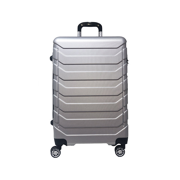ABS 4 wheels trolley school bag for student