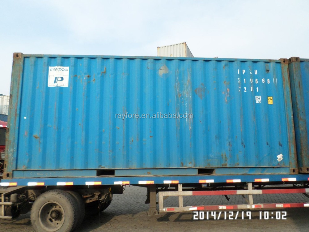shanghai new dry container 20ft used shipping container