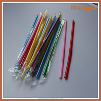Chinese hot sale colored plastic art straw