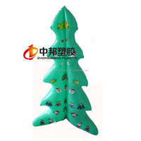 2015 Artificial Inflatable Christmas Tree for Promotion Hot Sale Giant inflatable christmas tree, santa tree for promotion