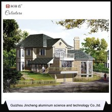 Promotional Top Quality aluminum alloy steel frame house