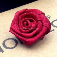 Rose Brooch Handmade Flower Brooch