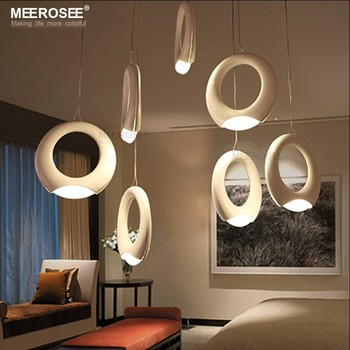 Circle LED Chandelier for Dining Room Round Pendant LED Lamps Design Pendant Light MD83058