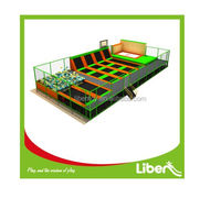 professional commercial cheap trampoline with many games,indoor and outdoor trampoline park for sale
