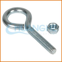 China manufacturing high-quality carbon steel eye bolt with plate