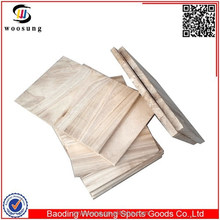 paulownia wood taekwondo breaking board