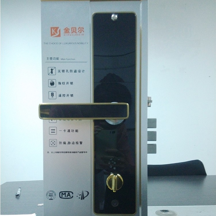 New selling intelligent password electric fingerprint house security locks