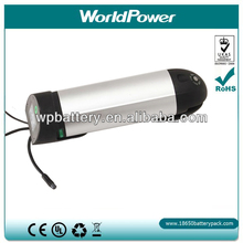Bottle Type Battery 36V for electric Bike with controller compartment