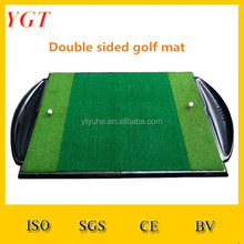 YGT-A185 dubbelzijdig golf mat Mini Golf Gras Mat Putting Green