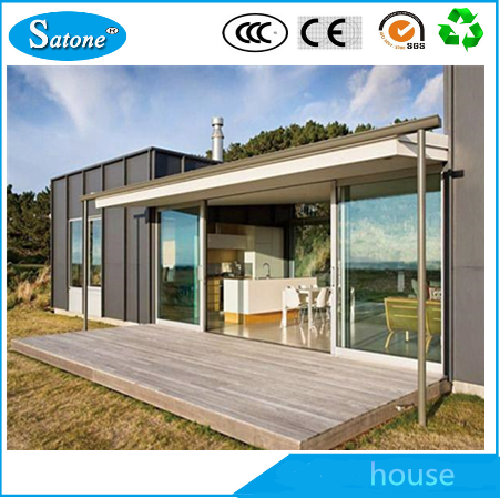 good quality light steel structure villa Prefabricated House luxury modern house
