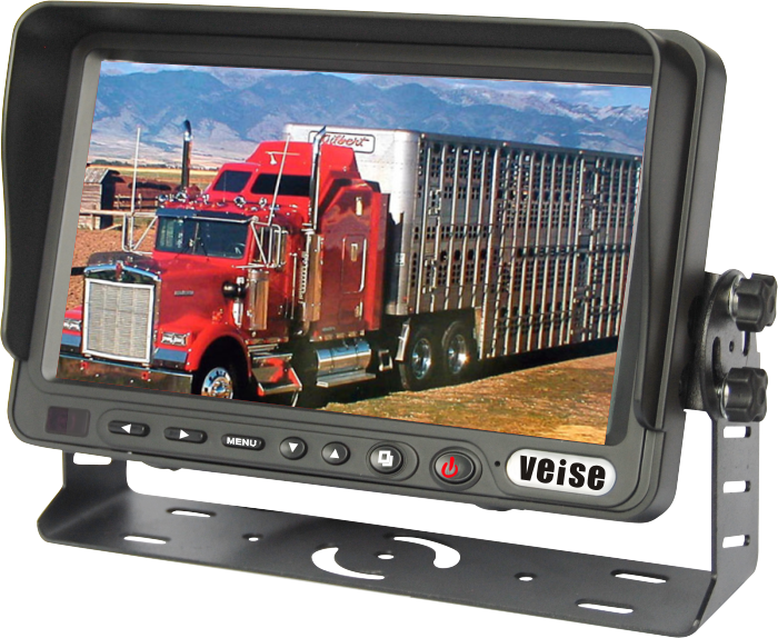 7 inch LCD Rear Camera Monitor System for school bus, truck, forklift
