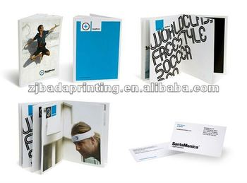 2013 hot selling customized brochure printing company