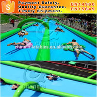 new 1000ft slip n slide inflatable slide the city