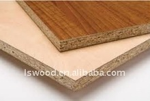 Melamine chipboard/Low price high quality particle board