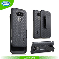 China factory new arrival holster combo case for LG G5