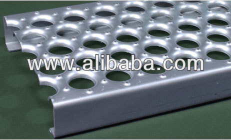 Galvanized Walkway Perf-O Grip Grating