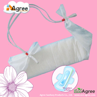 Super Absorbent Lady Belted Sanitary Napkin