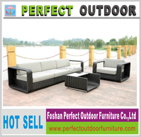 2016 new launch plastic rattan woven furniture outdoor sofa set