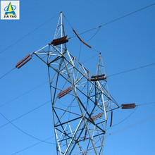 Jiayao ample supply 132kv power transmission line steel tower
