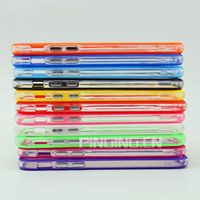 new design pc+tpu colorful frame bumper case for blackberry q5