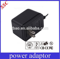5V 9V 12V 24V AC / DC switching power adapter /phone charger with UL PSE CE GS BS KC Approval
