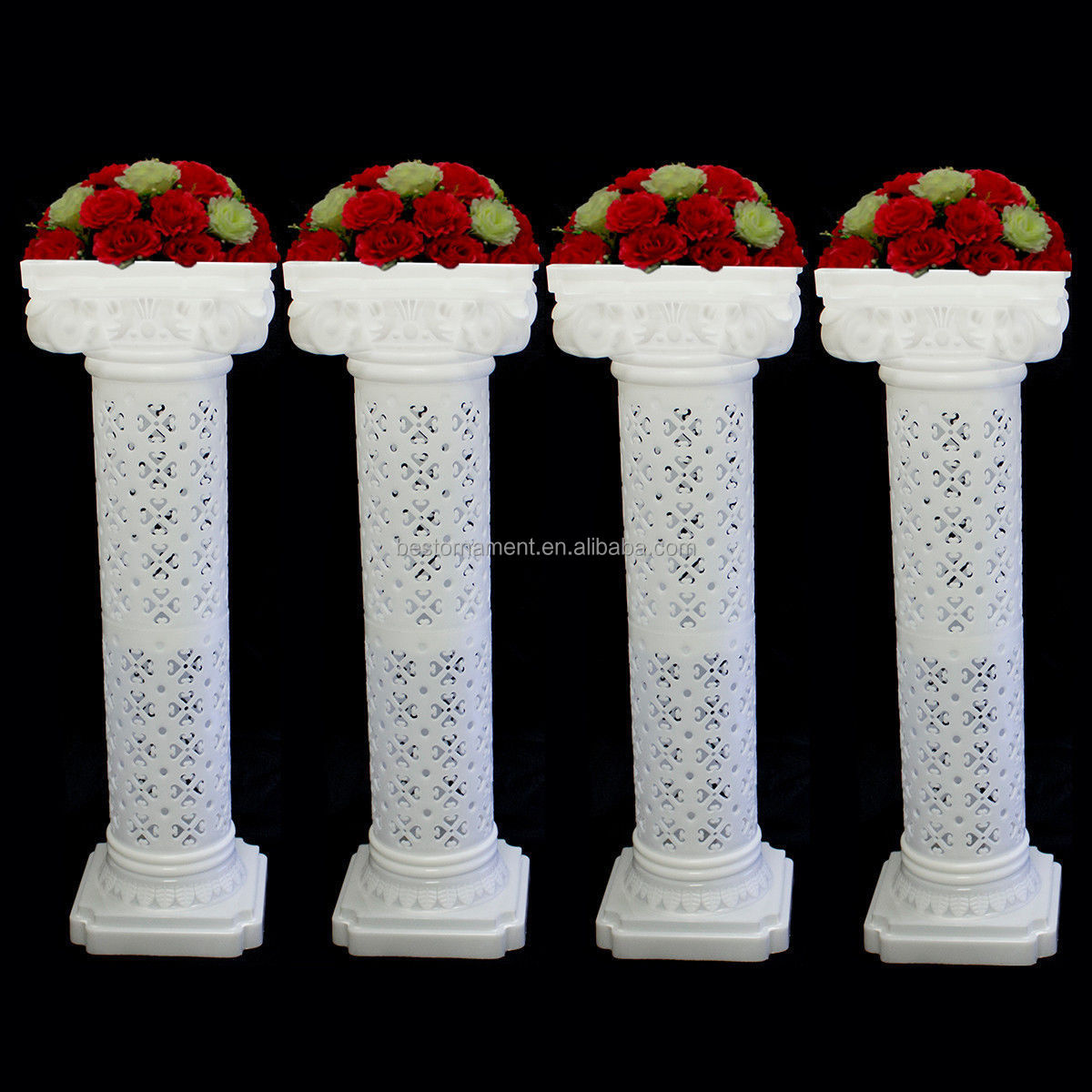 Wedding decorative plastic roman column buy wholesale for Decorative columns