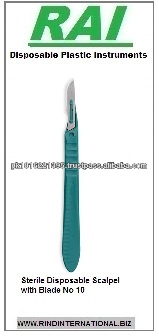 Disposable Scalpel 11.5cm With Blade No 10