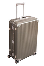 aluminum travel luggage with good quality