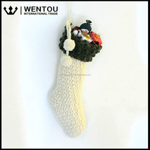 Wholesale Stanta Crochet Christmas Stocking