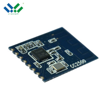 CC2500 small size low cost 2.4Ghz low power 500Kbps wireless module