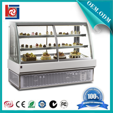 display cake refrigerated showcase