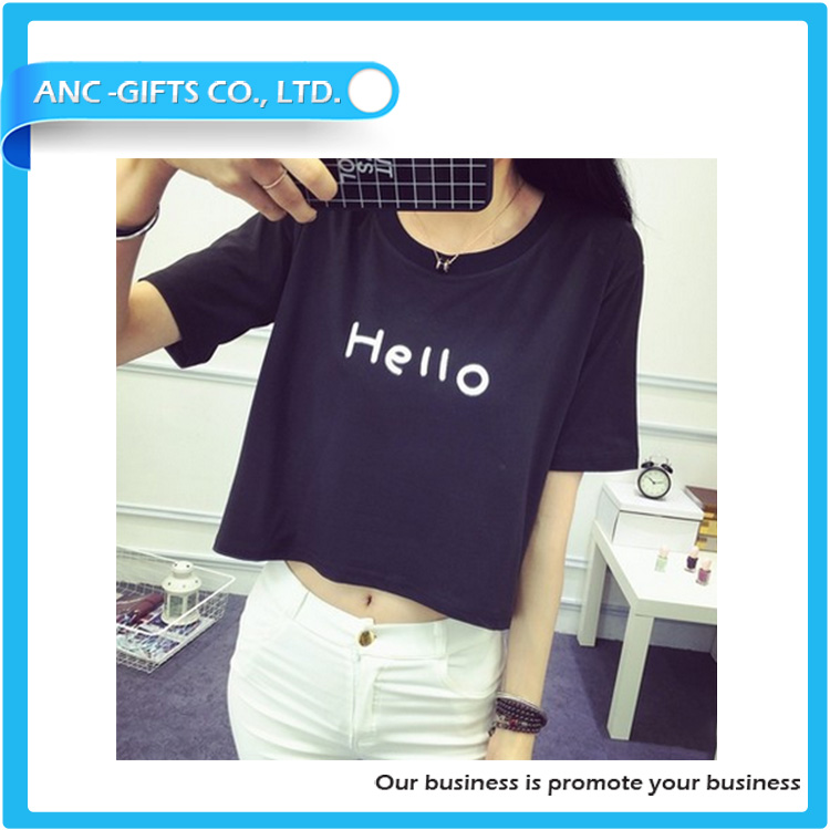 hot sales high quality suitable price loose fit design for girls 220 gsm cotton t shirt fabric