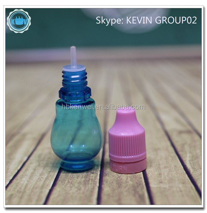 New products10ml pet bottle pear shaped bottle small perfume bottle