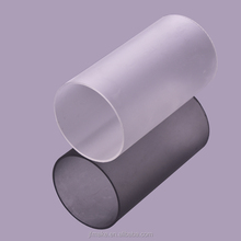 Factory Price High Quality Frosted Polycarbonate Pipe Plastic Tube