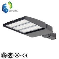 Good thermal conductivity DLC list high quality 100w/150W/200W IP66 led parking lot lighting led street light