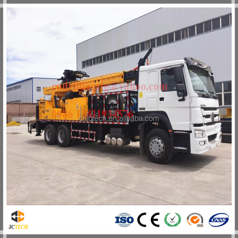 6X4 Truck mounted hydraulic portable water well drilling rigs for sale