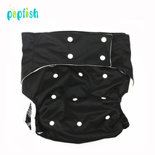 Adjustable Large Size Reusable PUL Waterproof Cloth Hospital Adult Washable Cloth Diaper Incontinence Pants For Old People