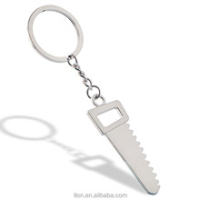 Promotional Push Automatic Metal dance keychain