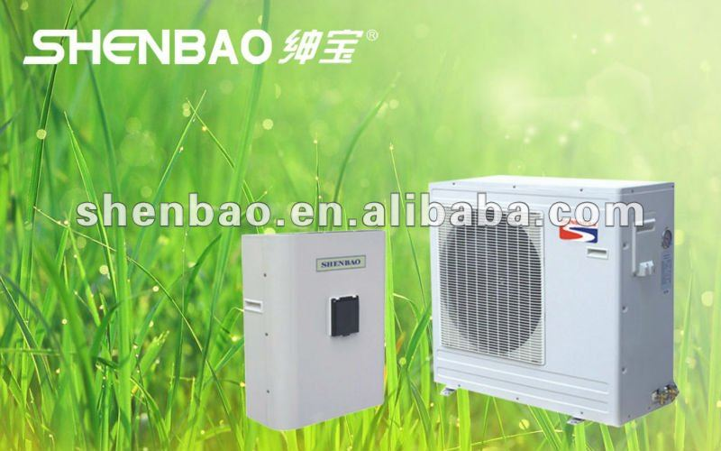 hot sell white casing dc inverter heat pump #ssb-9.5h-b/ap
