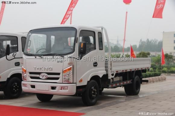 Hot Sale T-KING Brand 2T Small Light Truck For Price