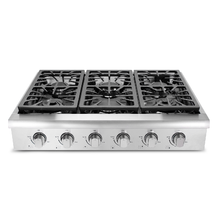 Built in 6 burner wok gas stove for sale