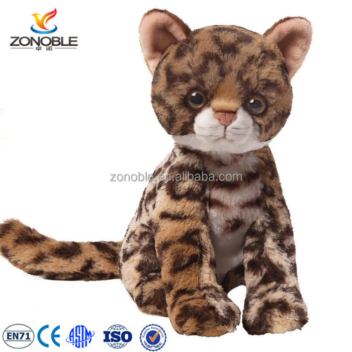 New design stuffed animal toy tabby cat cuddly children toy soft lifelike cat plush toy