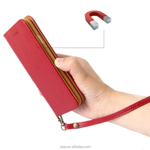 Wallet Style Magnetic Slim Leather Phone Case For Iphone 6 Iphone 6s Plus Case, For iPhone7 Leather Case, For iPhone Case