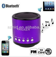 gifts for blind people portable bluetooth speaker kd-mn02bt